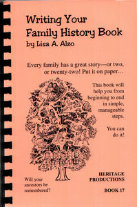 Writing your Family History Book