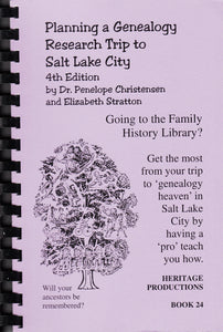 Planning a Research Trip to Salt Lake City