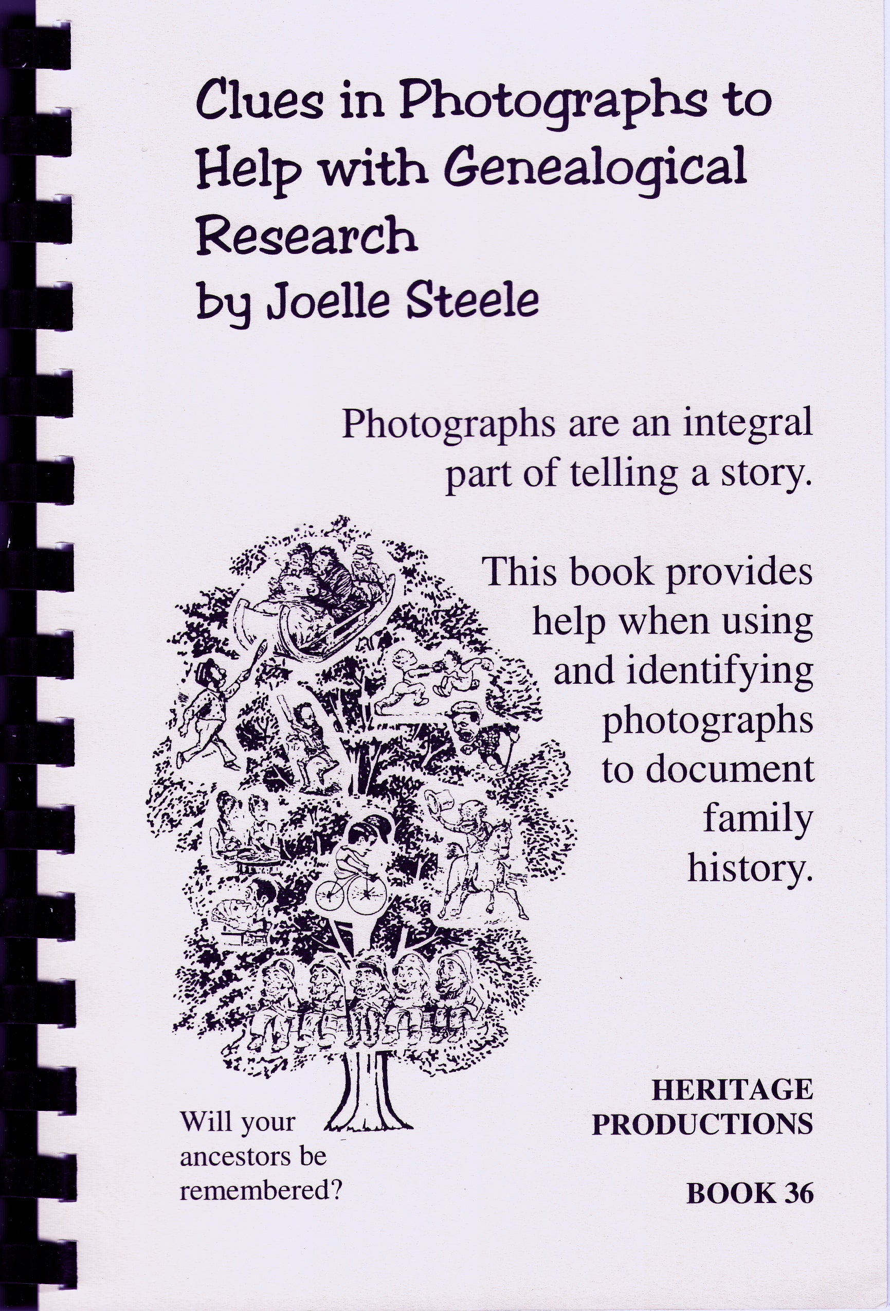 Clues in Photographs to Help with Genealogical Research