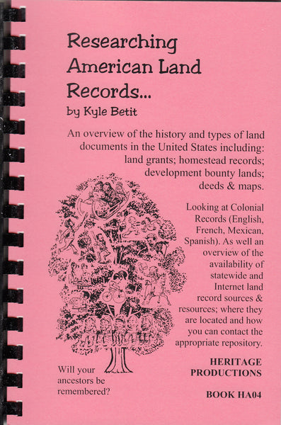 Researching American Land Records