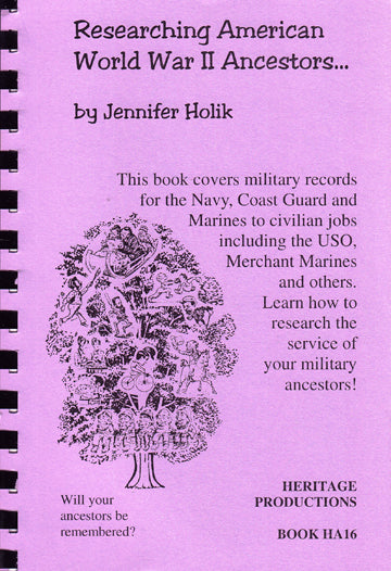 Researching American World War II Ancestors