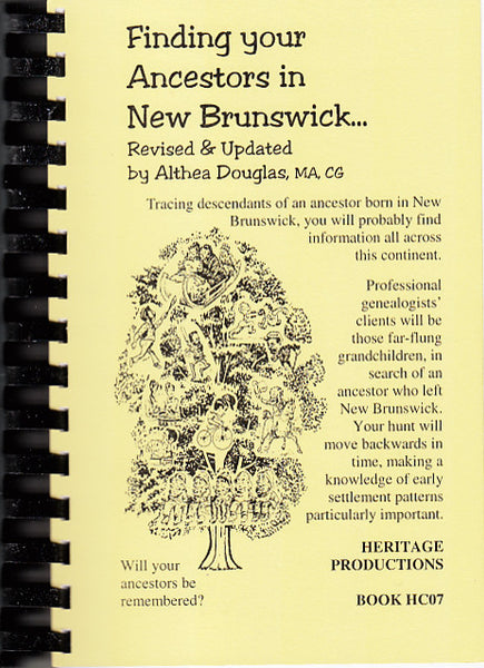 Finding Your Ancestors in New Brunswick