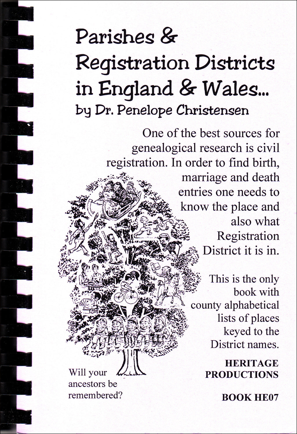 Parishes and Registration Districts in England and Wales
