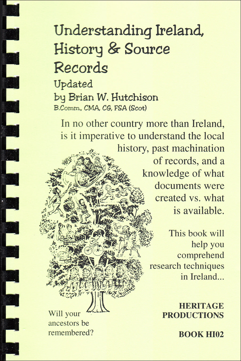 Understanding Ireland, History and Source Records