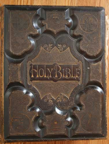 1870's Carmack Family Bible - Morgan Co., Illinois to Green Co., Kentucky