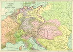 Map of Europe after 1815