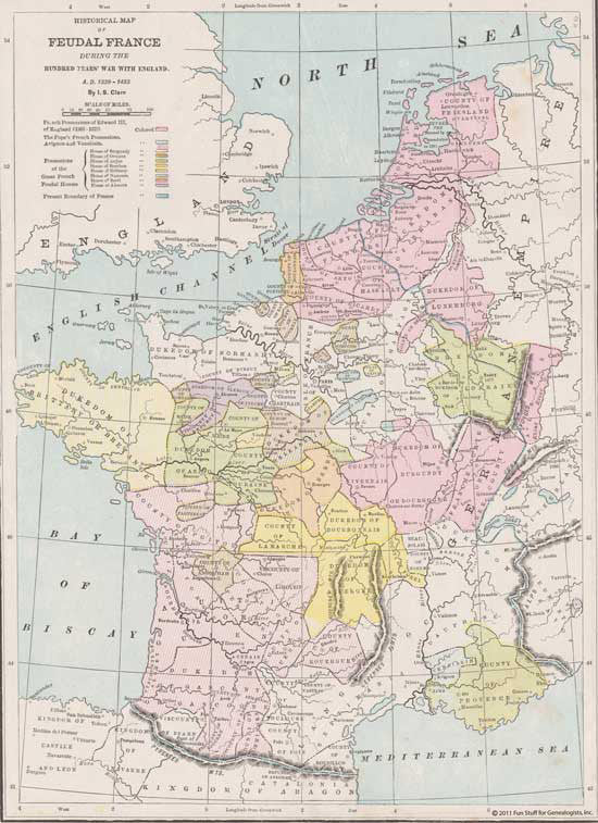 Map Of Spain Portugal And France.Maps Europe France Spain Portugal Fun Stuff For Genealogists