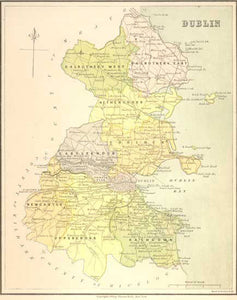 Ireland - County Dublin 1878