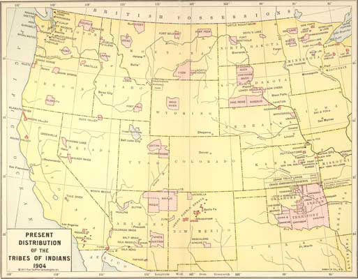 American Indian Tribes in America 1904