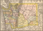 1884 Map of Washington State