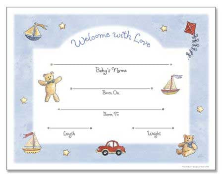 boy birth certificate template pedigree charts forms fun stuff for genealogists inc