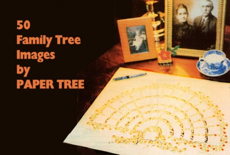 50 Family Tree's on One CD