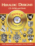 Heraldic Designs CD-ROM and Book Clip Art