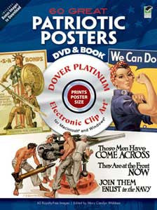 60 Great Patriotic Posters DVD & Book