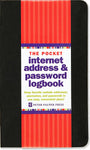 Internet Address & Password Logbook - Small