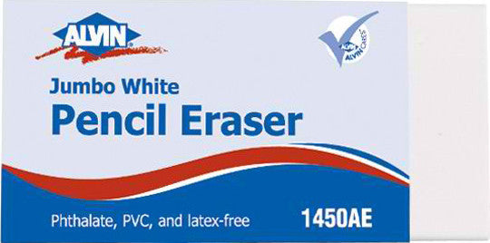 Jumbo White Pencil Eraser