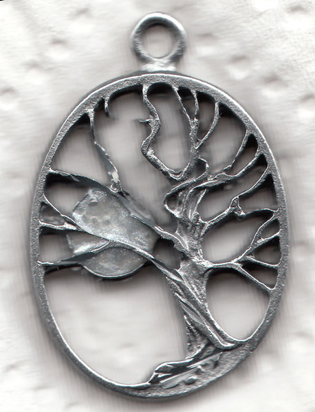 Tree of Life with Moon Pendant