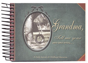 Grandma, Tell Me Your Memories... Journal