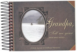 Grandpa, Tell Me Your Memories... Journal