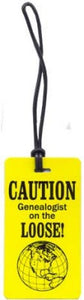 "Luggage Tag  ""On the Loose"""