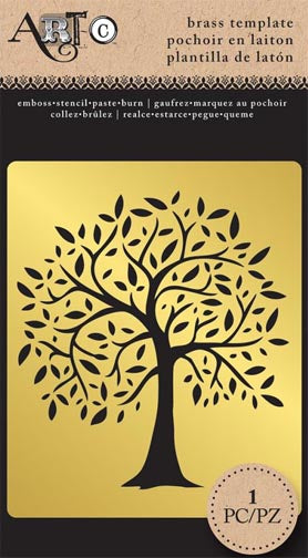 Brass Tree of Life Stencil