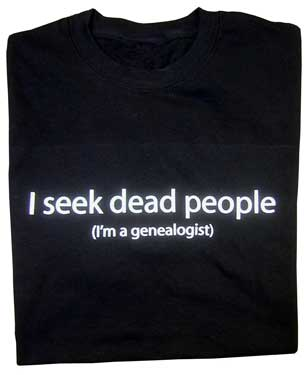 I Seek Dead People T-shirt - Regular price, $18 - $20 - BIG SALE! 1/2 OFF AS INDICATED!!!