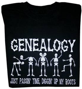 Genealogy Skeleton T-shirt