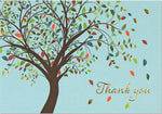 Tree Thank You Note Cards