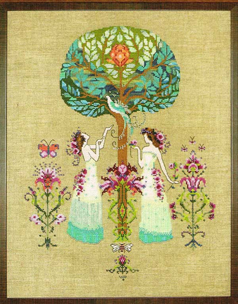 Tree of Hope Cross Stitch Pattern