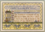 A Family Sampler Cross Stitch Pattern