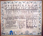 Alsap Family Record Sampler Cross Stitch Pattern