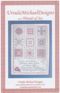 """Threads of Joy"" Counted Cross Stitch Pattern"