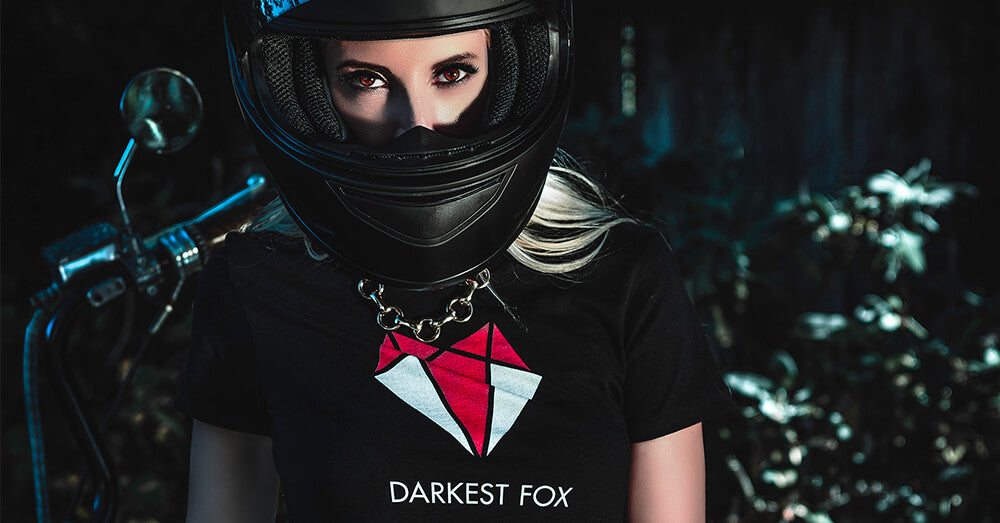 Darkest Vixen in Official Darkest Fox Merchandise
