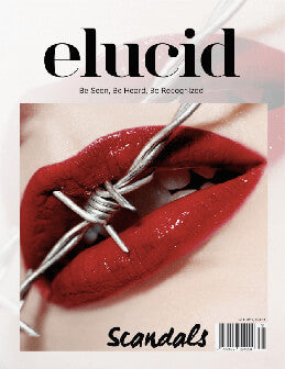 Elucid Magazine • Scandals Cover January 2018