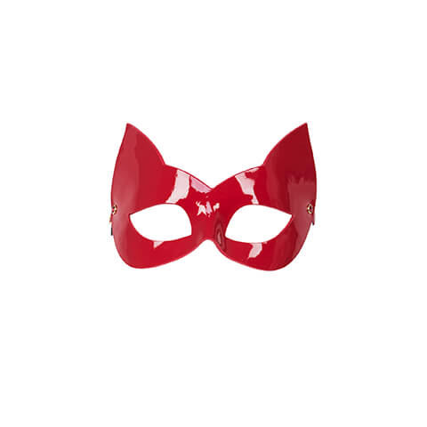 Red Kitty Mask Pet Play