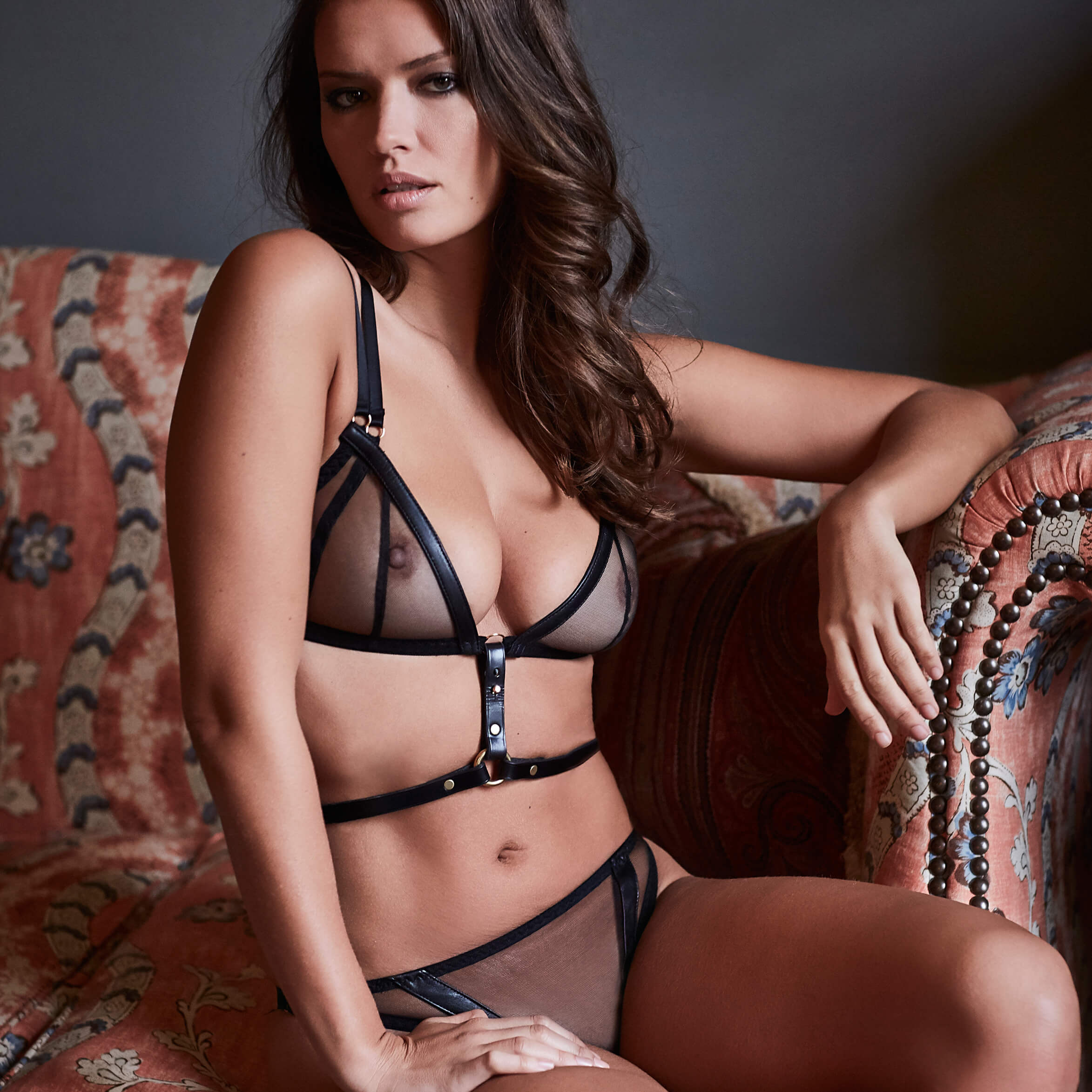 Leather Lingerie Lookbook