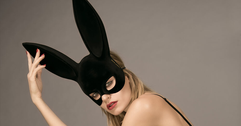 Masquerade Ball Bunny Mask