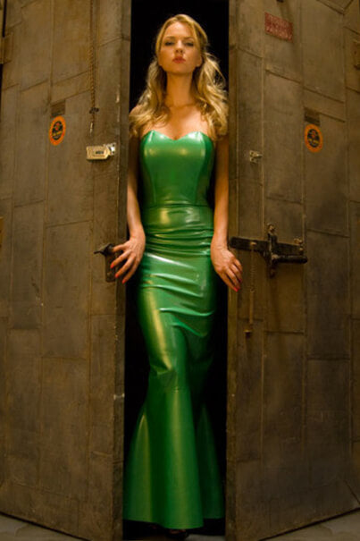 Green Latex Mistress Dress