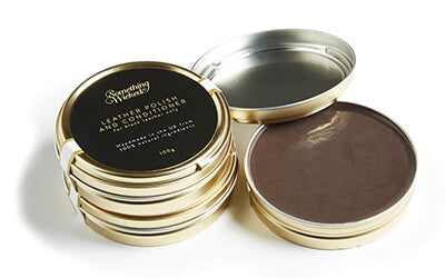 Natural Beeswax Leather Polish
