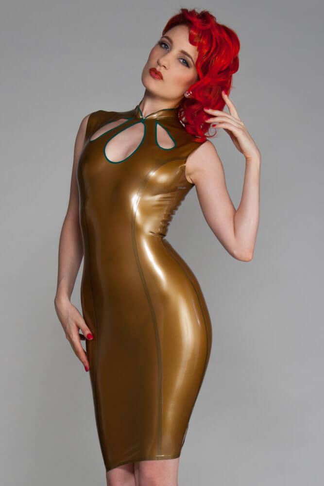Tami Gold Latex Dress