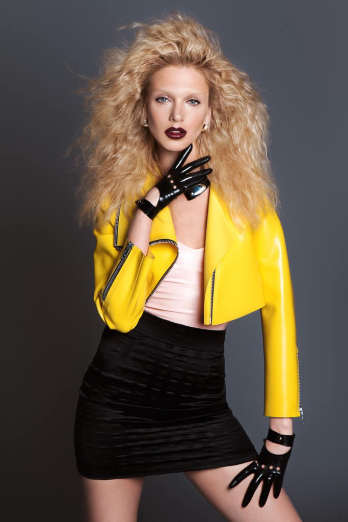 Zeta Yellow Latex Jacket
