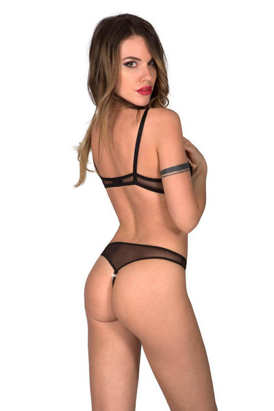 Eros Lace Push-up Bodysuit