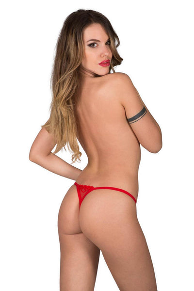 Eros Red Detachable Mini-thong
