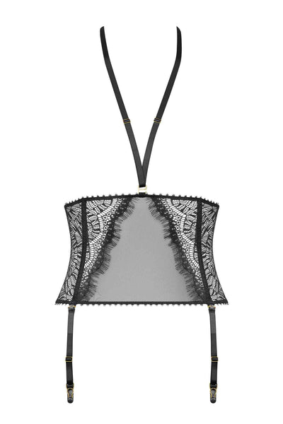 Accroche Coeur Waist Cincher with Suspenders