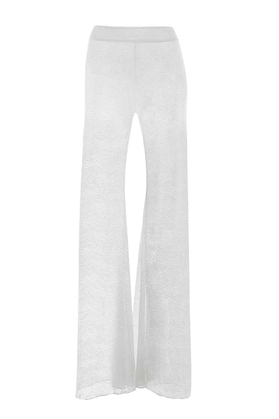 White Sheer Lucid Pant