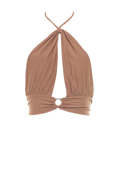 Rose Quartz Hanelli Halter Top