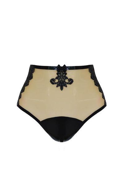 Maia Crotchless High Waist Knicker