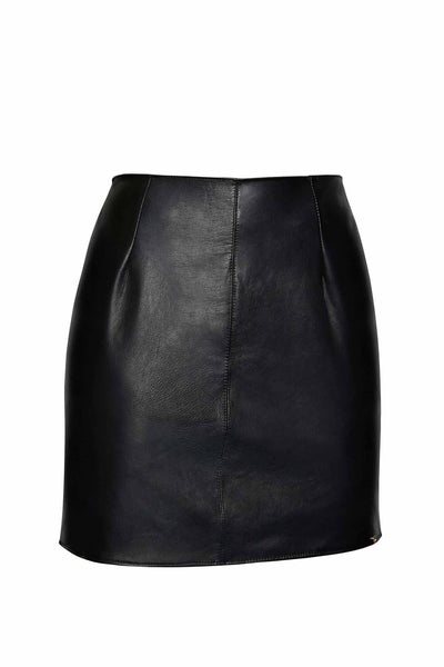 Mia Leather Skirt
