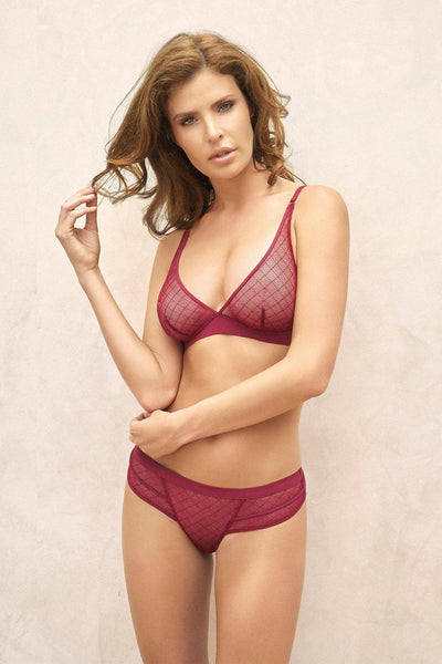 Sangria Triangular Bra