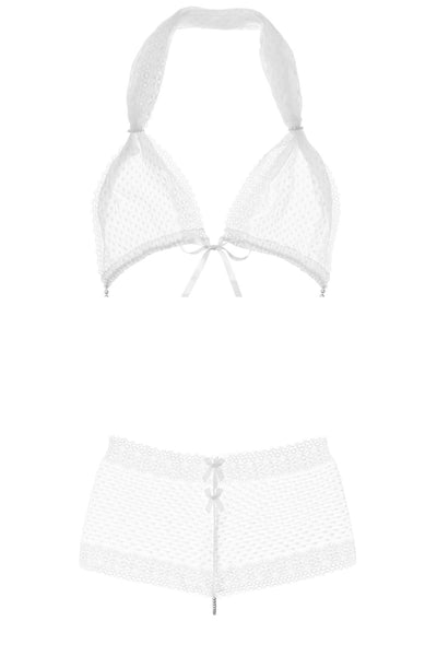 Bracli & G White Chantilly Bra Set